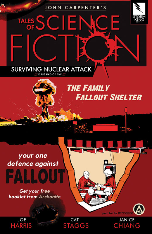 John Carpenter's Tales of Science Fiction - SURVIVING NUCLEAR ATTACK #1-2 (2019)