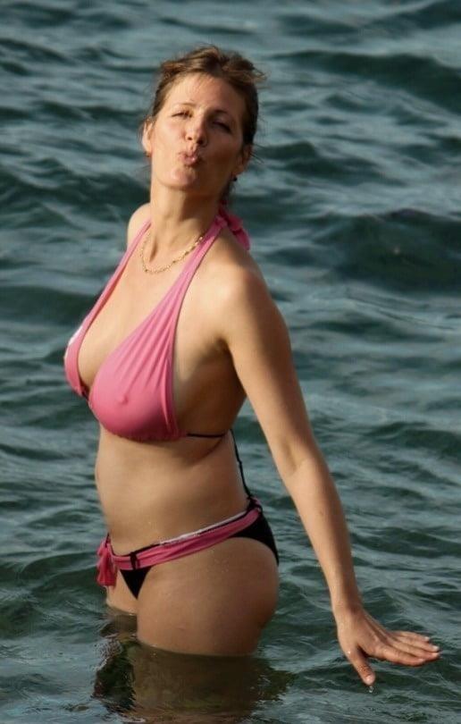 Nude lingerie mature-3647
