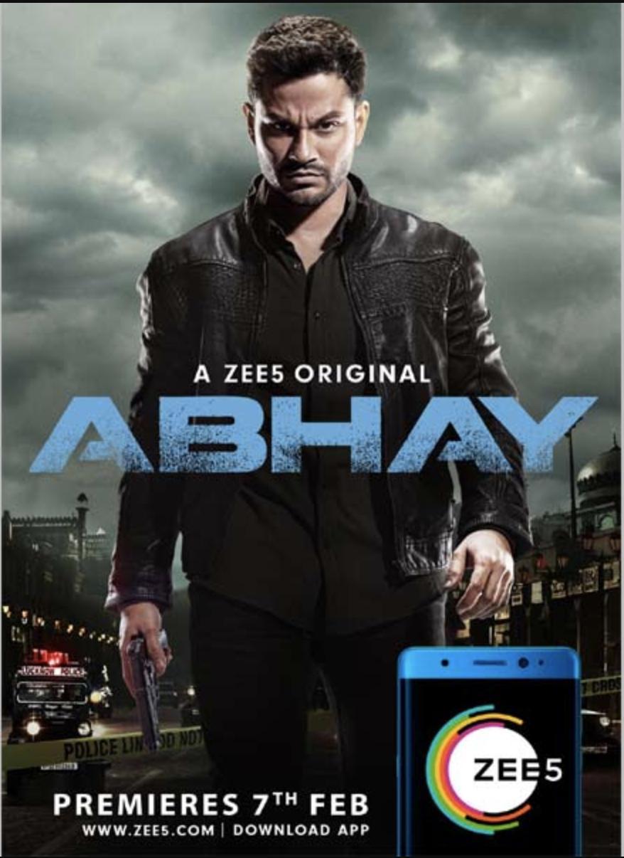 Abhay 2019 Season 1 Complete Zee5 Originals 1080p WEB-DL