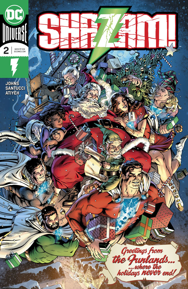 Shazam! Vol.2 #1-12 (2019-2020)