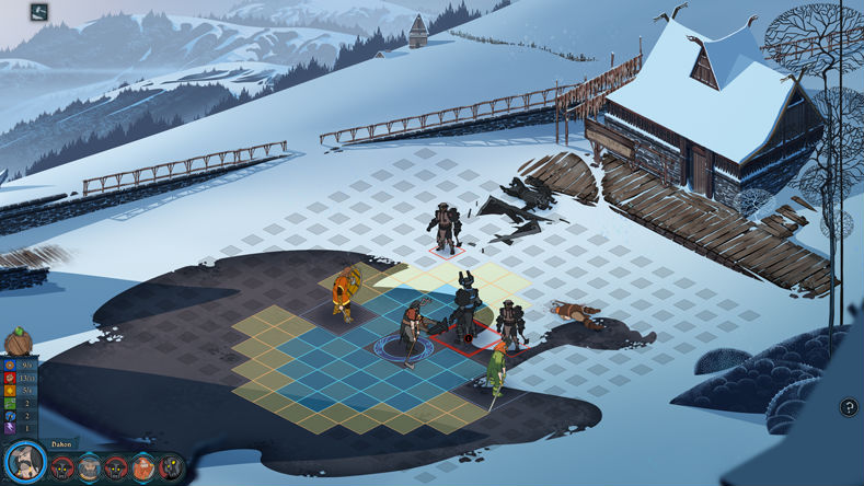 The Banner Saga Captura 3
