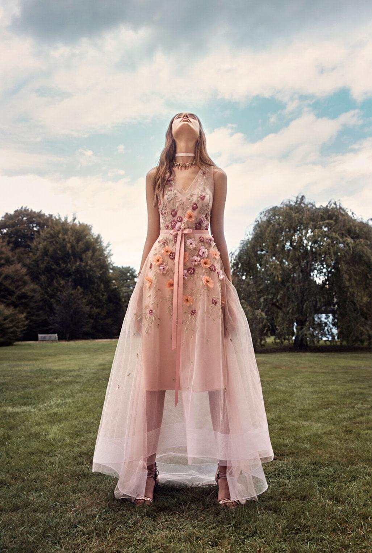 Коллекция модной одежды Marchesa, сезон весна-лето 2020 / фото 04