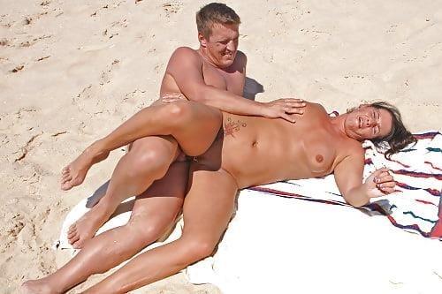 Nude beach sex in public-5275