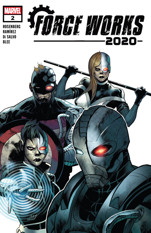 2020 Force Works #1-3 (2020) Complete