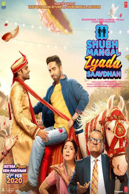 Shubh Mangal Zyada Saavdhan 2020 720p WEBDL