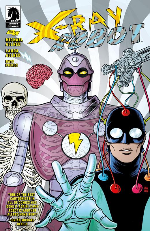 X-Ray Robot #1-4 (2020)