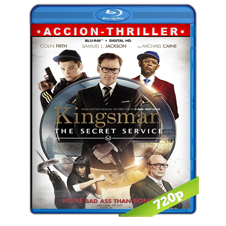 Kingsman El Servicio Secreto HD720p Audio Trial Latino-Castellano-Ingles 5.1 2014
