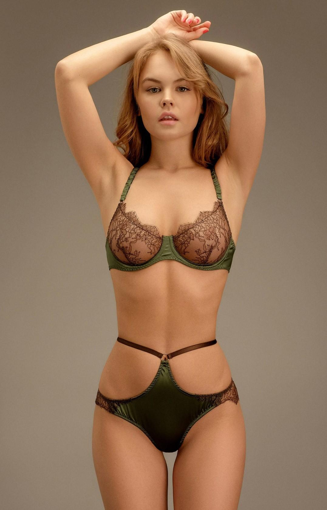 Anastasiya Scheglova / Анастасия Щеглова в нижнем белье Levage lingerie