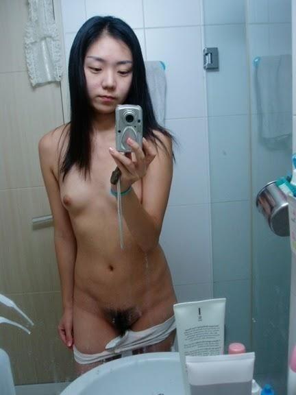 Nude asian girl selfie-4557