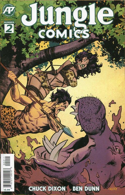 Jungle Comics #1-3 (2019-2020)