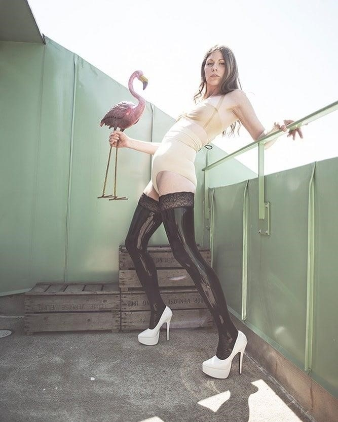 Latex stockings porn pics-9124