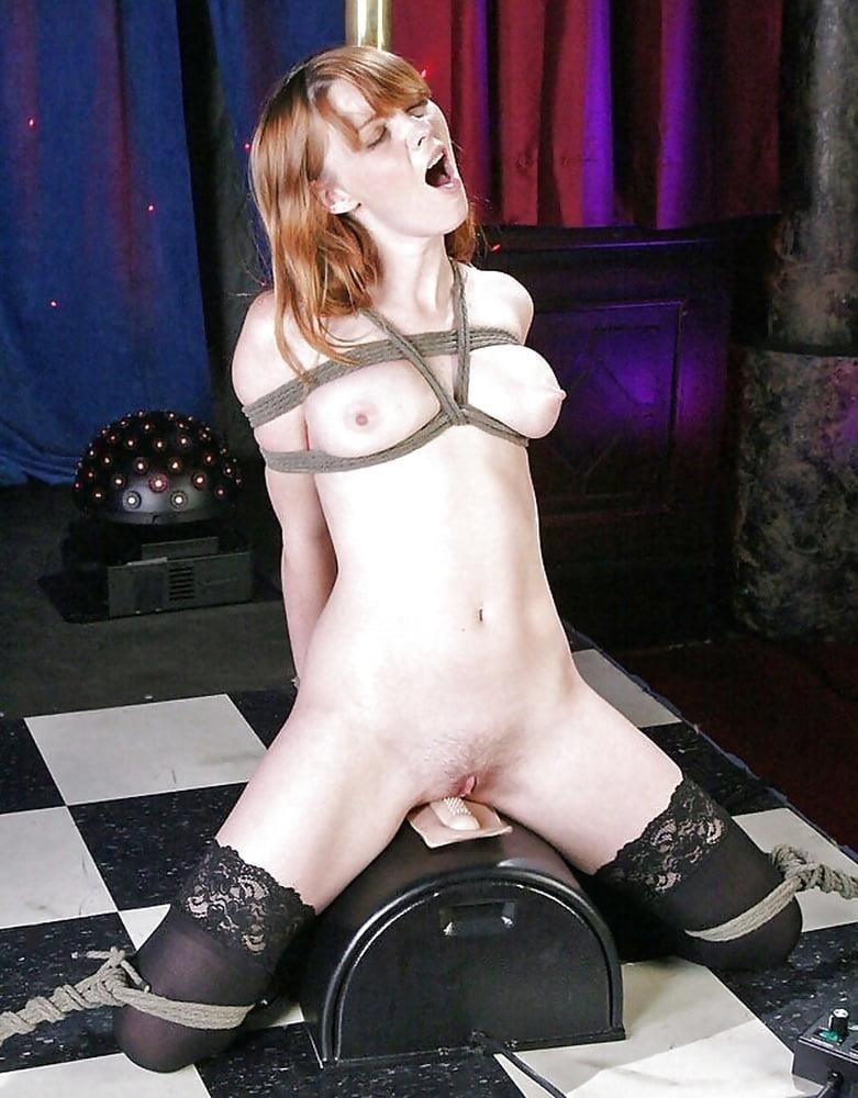 Sybian bondage torture-9675