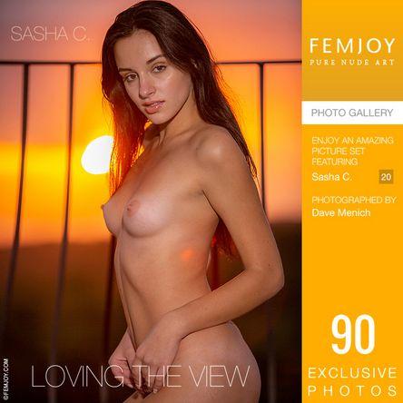 [Femjoy.com] 2021.05.08 Sasha C - Loving The View [Glamour] [5000x3334, 90 photos]