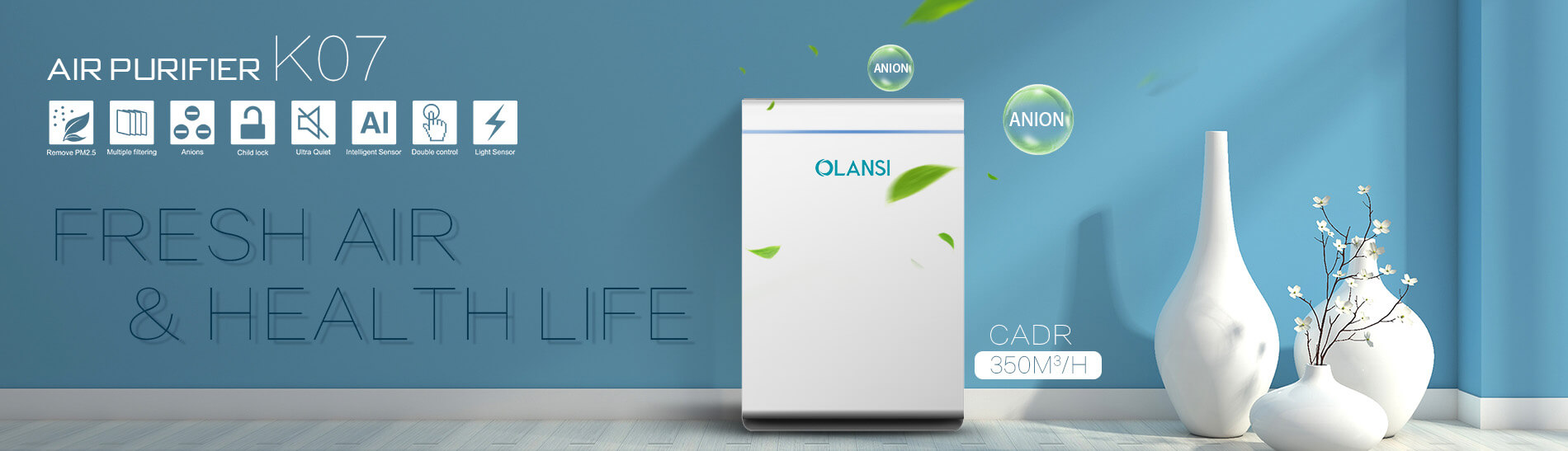 Olansi Healthcare Co., Ltd Introduces a Whole New Range of Air Purifiers That are Durable, Effective and Affordable