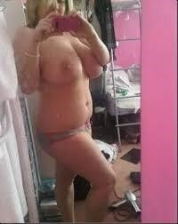 Naked fat girl selfies-6396