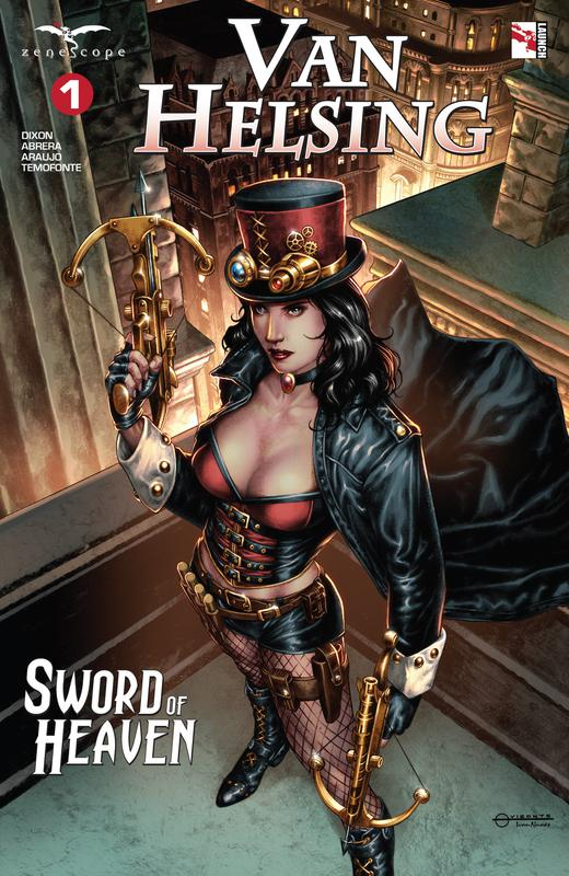 Van Helsing - Sword of Heaven #1-3 (2018-2019)