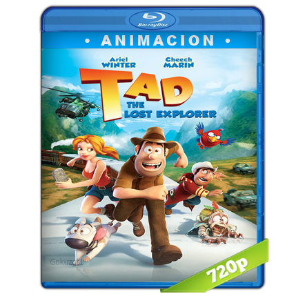 Tadeo Jones Y El Tesoro De Los Incas HD720p Audio Trial Latino-Castellano-Ingles 5.1 (2012)