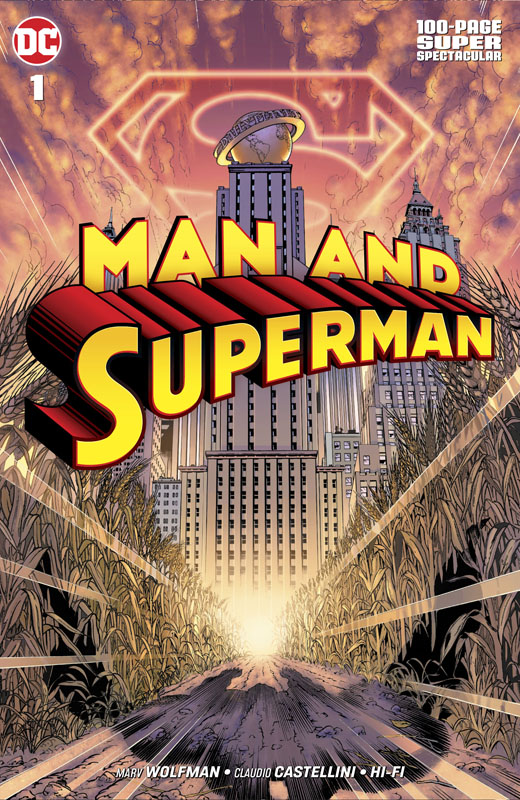 Man and Superman 100-Page Super Spectacular 001 (2019)