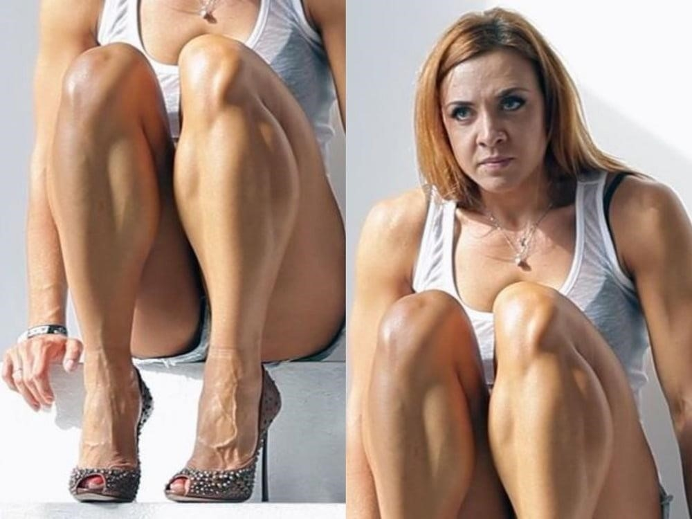 Bodybuilder female clit-6788