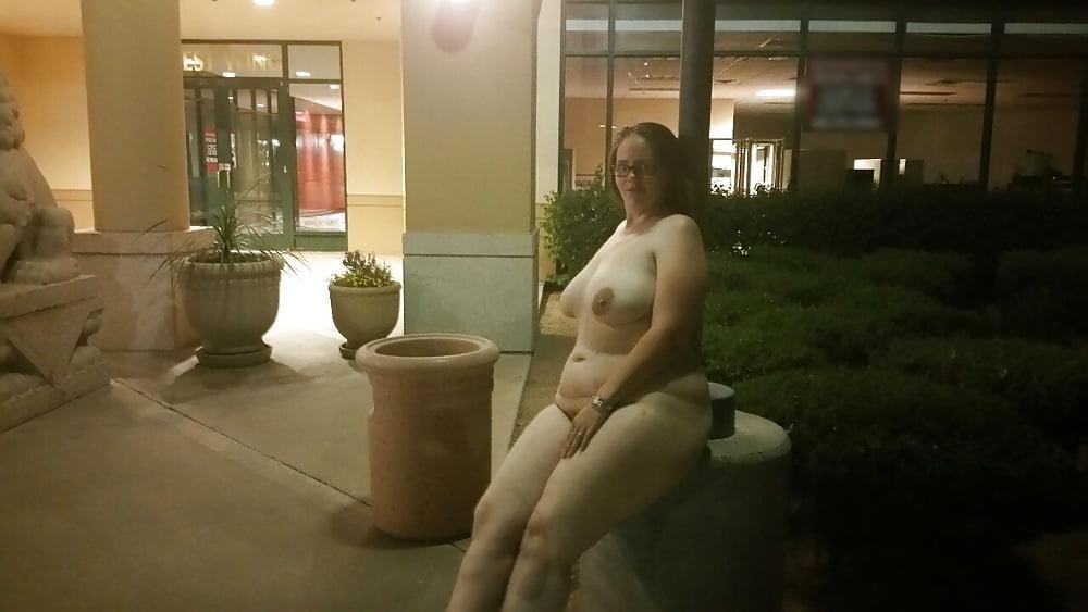 Bbw public nudity-7886