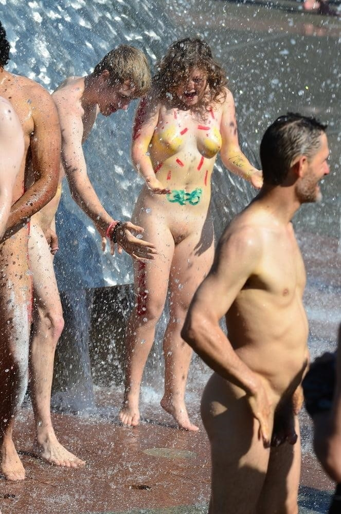 Nude beach bukake-6418