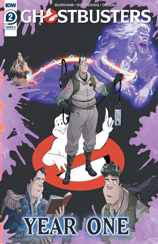 Ghostbusters - Year One #1-3 (2020)