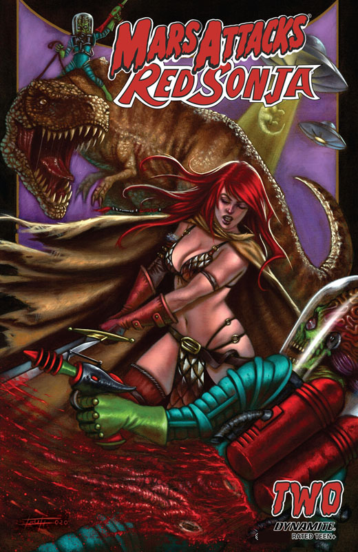 Mars Attacks - Red Sonja #1-2 (2020)