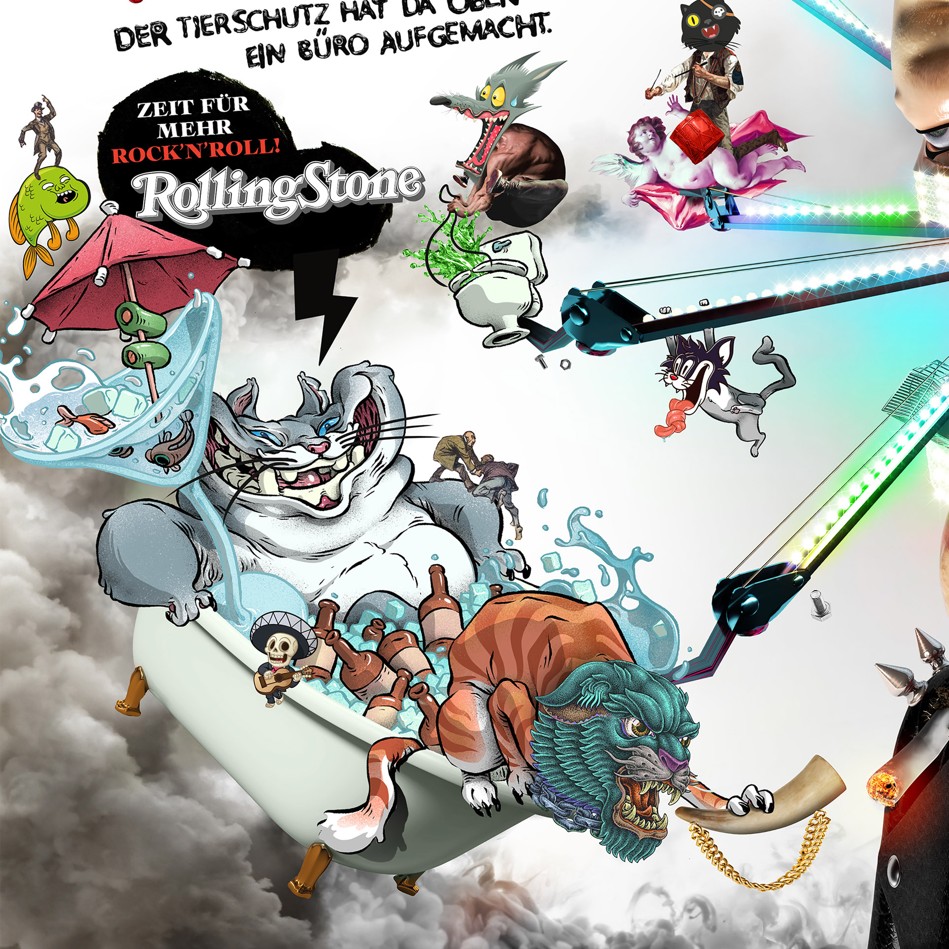 Rolling Stone Magazine 2016 Campaign