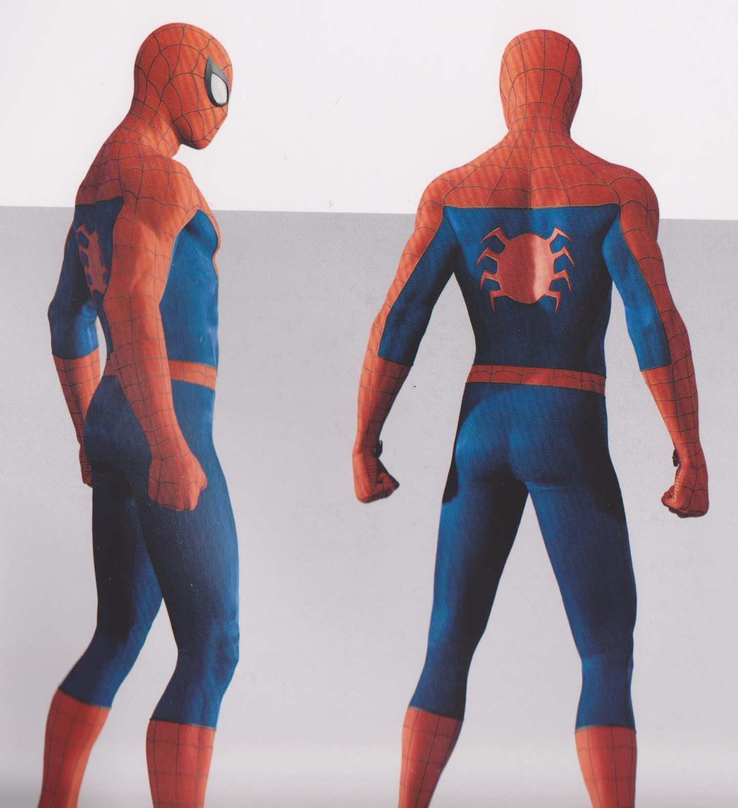 Spider Man Ps4 Concept Art Reveals Alternate Designs For The Wall