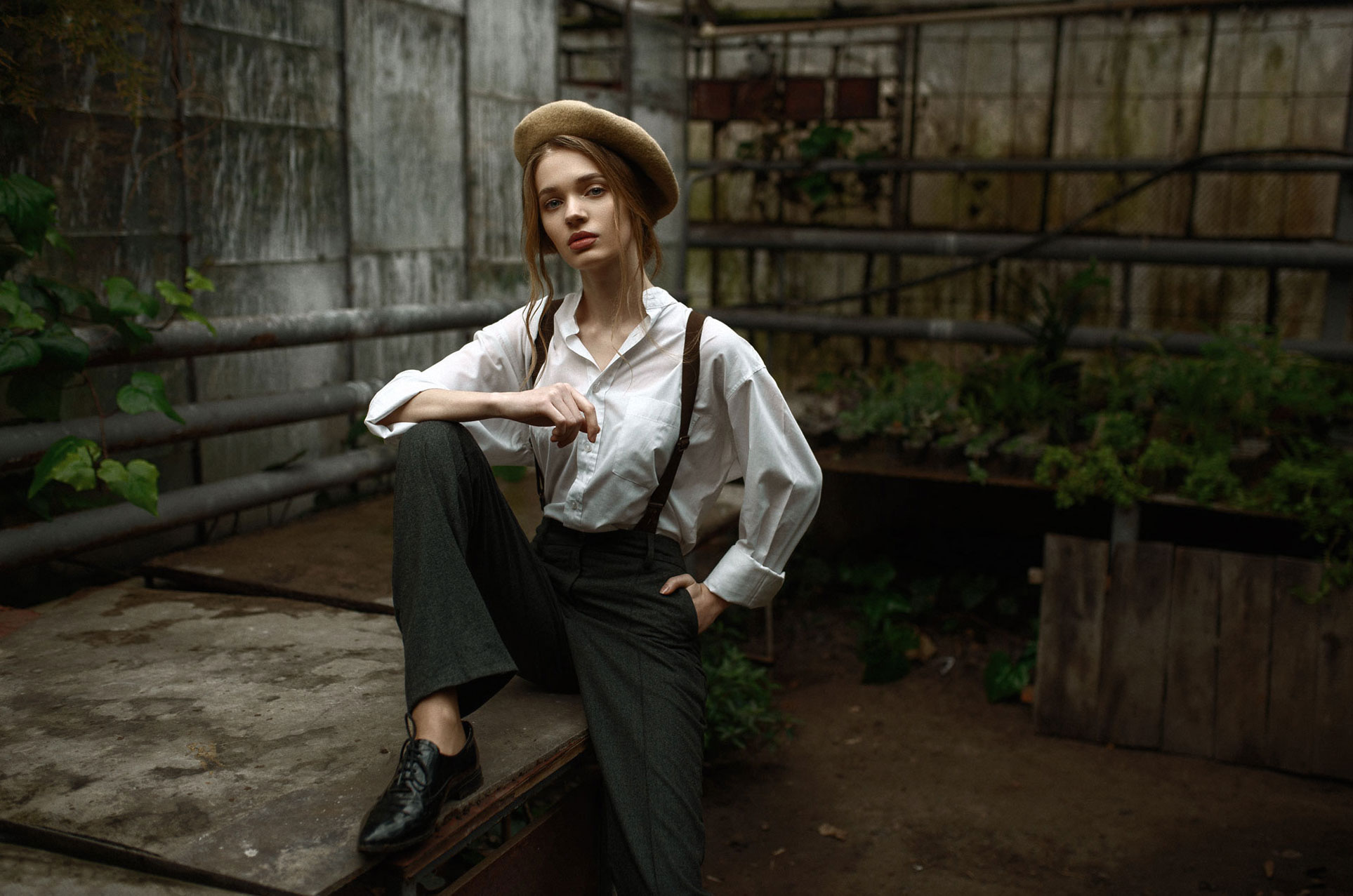Полина Воропаева / Polina Voropaieva by Maks Kuzin