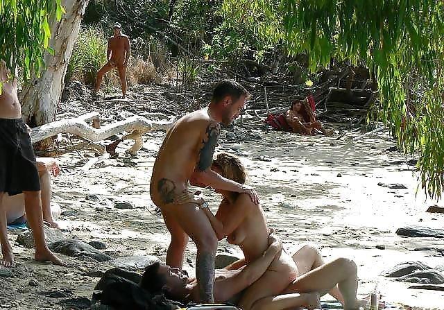Asian beach orgy-9318