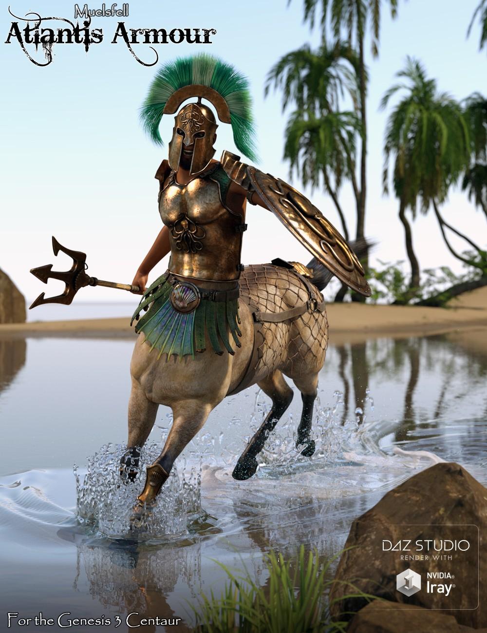 Muelsfell Atlantis Armour for the Centaur 7 Male
