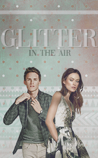 glitter in the air