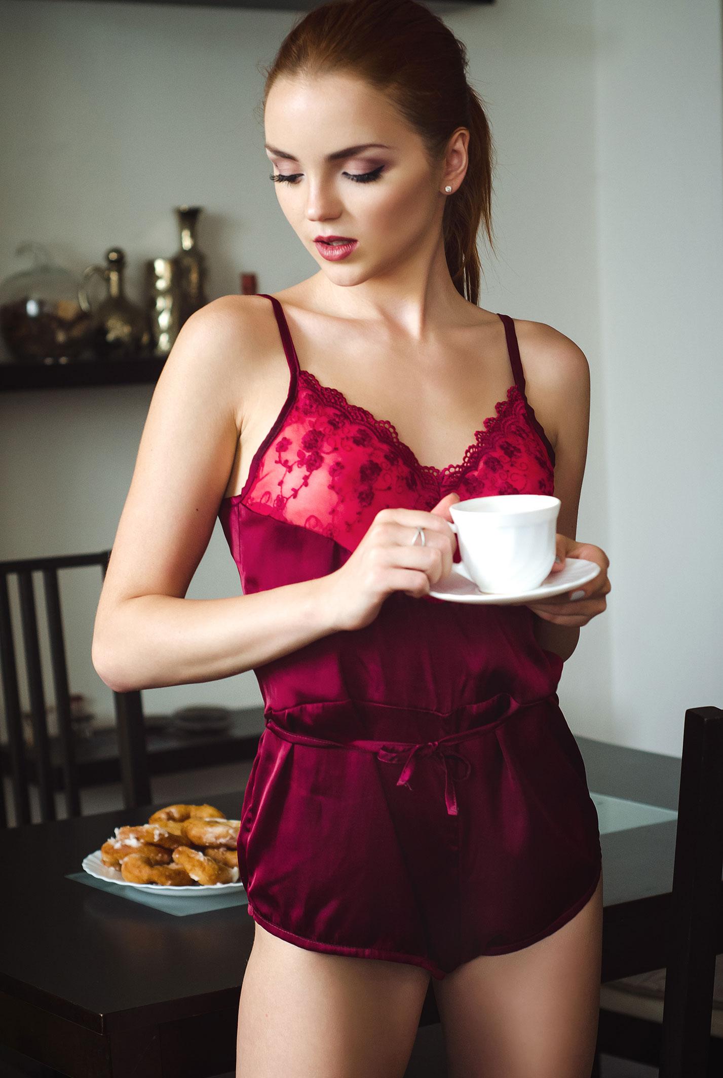 готовим с сексуальной Екатериной Шержуковой / Katherin Sher by Nikolas Verano