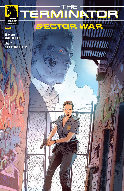 Terminator Sector War #1-4 (2018-2019) Complete