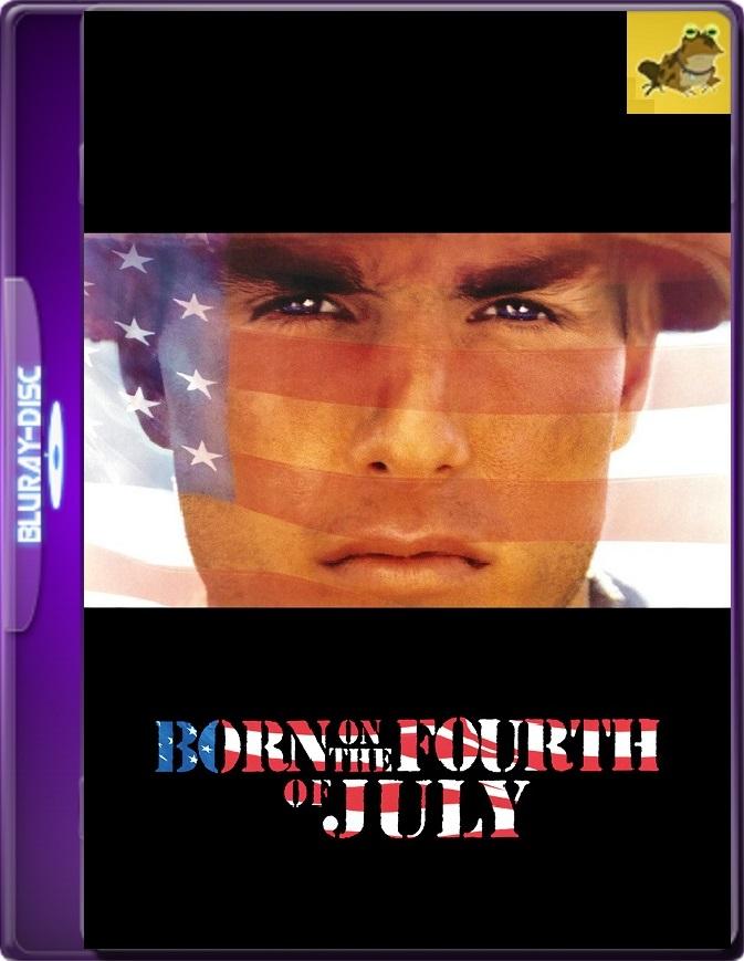 Nacido El Cuatro De Julio (1989) Brrip 1080p (60 FPS) Latino / Inglés