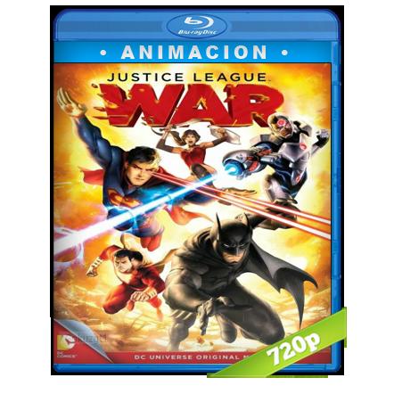 descargar La Liga De La Justicia Guerra 720p Lat-Ing[Animacion](2014) gratis