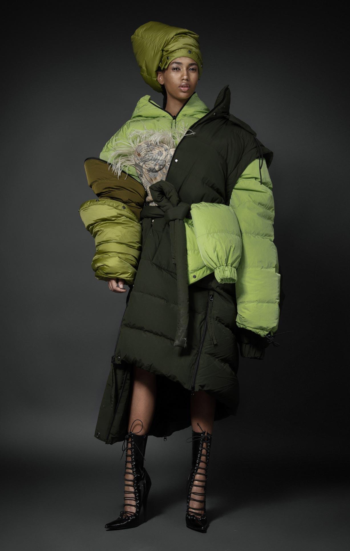 Нетрадиционный взгляд на модную одежду / фото 26