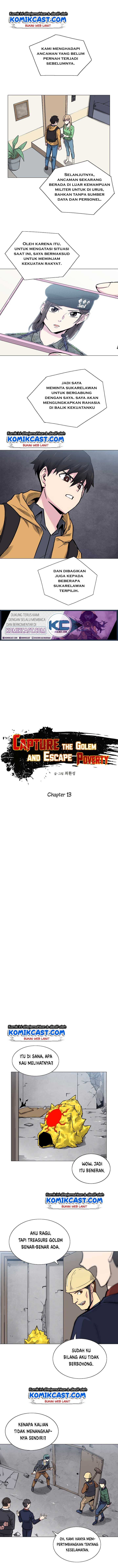 Escape From The Poverty by Catching Golem Chapter 13 Bahasa Indonesia