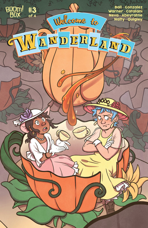 Welcome to Wanderland #1-3 (2018)