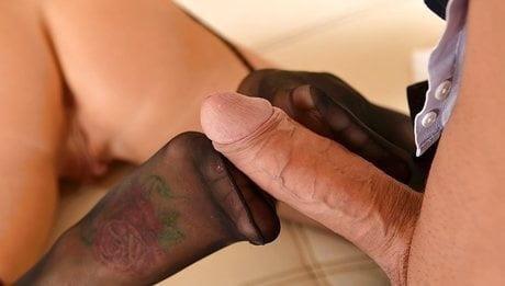 Nylon feet porn-4103