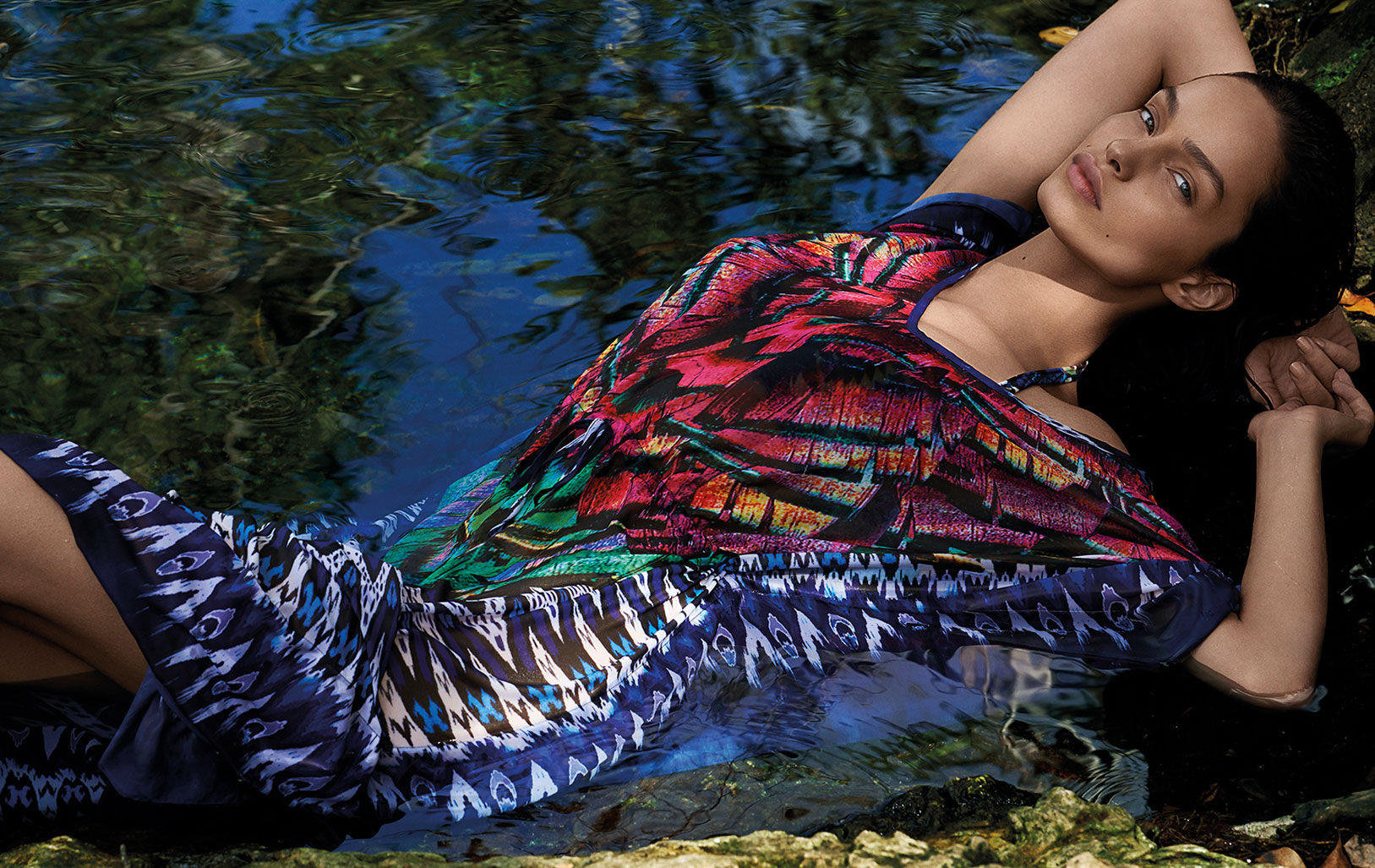 Лума Гроте в купальниках и пляжной одежде модного бренда Cia Maritima / фото 09