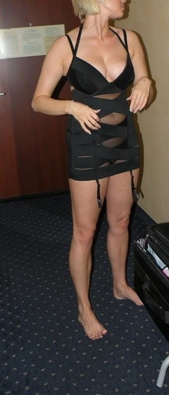 Short blonde with big tits-8293
