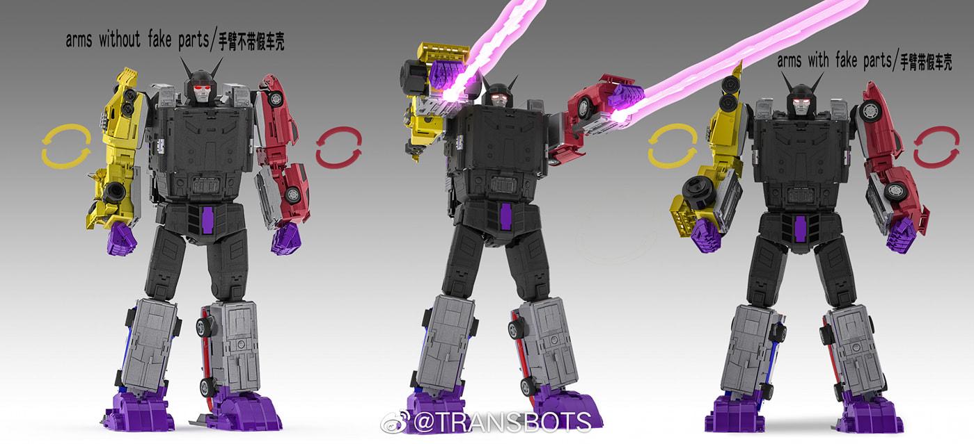 [X-Transbots] Produit Tiers - Jouets Berserkars forme Monolith (MX-XIII à MX-VII) - aka Stunticons forme Menasor/Menaseur - Page 6 Xclbw5jA_o