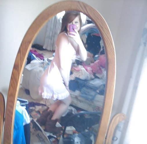 Ginger teen nude selfie-5231