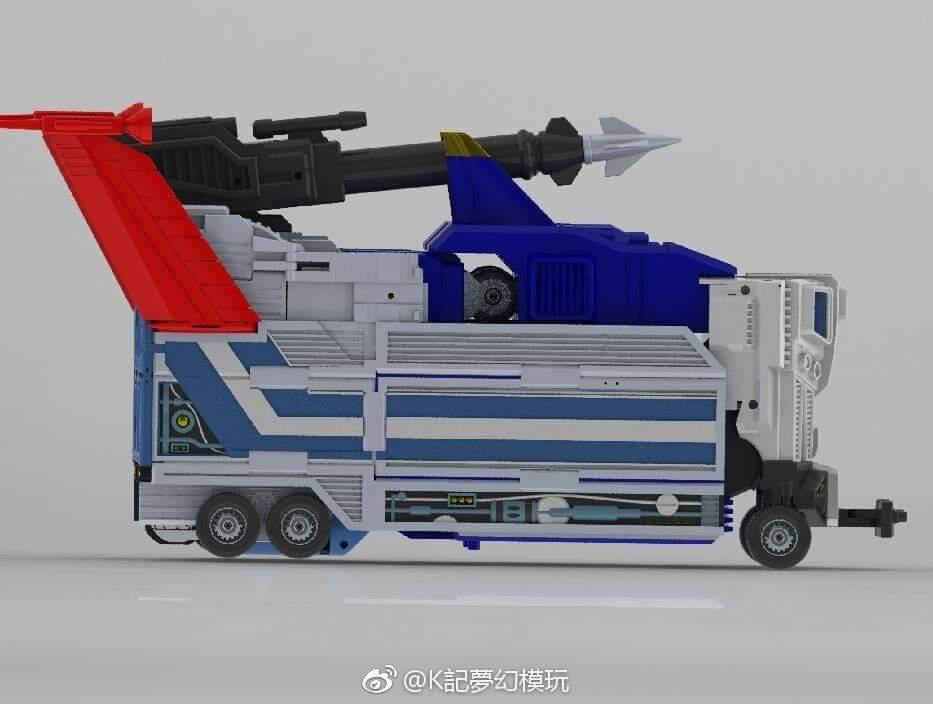 [KFC Toys] Produit Tiers - PC-14 Raijin + PC-15 Grand Raijin + P-16 Raiju - aka Ginrai (Powermaster Optimus) + Remorque de Ginrai + Godbomber = God Ginrai (TF Masterforce) W1FOhdfM_o