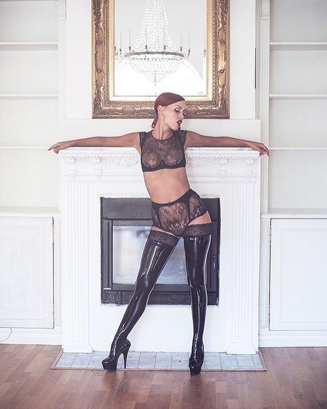 Latex stockings porn pics-8889