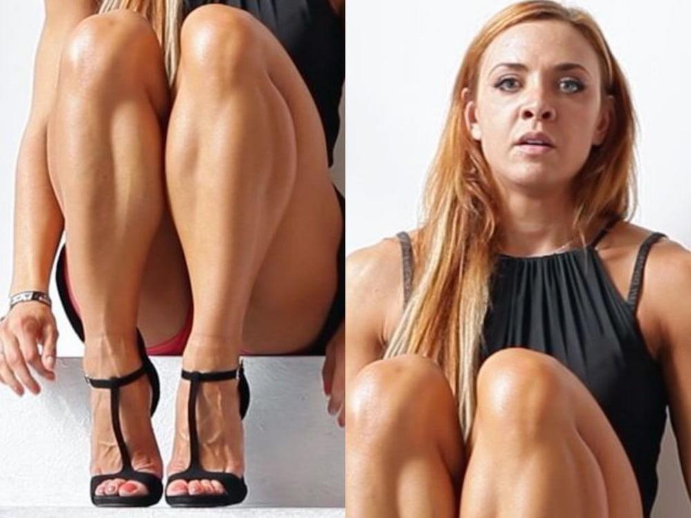 Bodybuilder female clit-8538