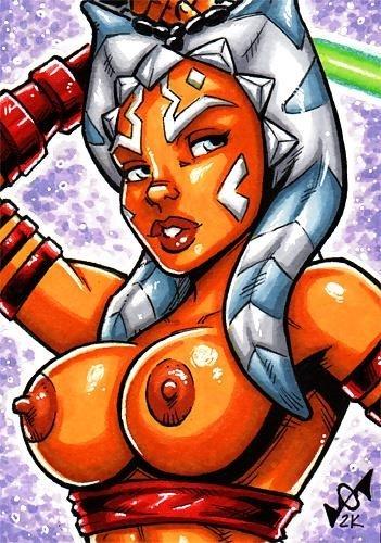 Star wars ahsoka porn pics-8190