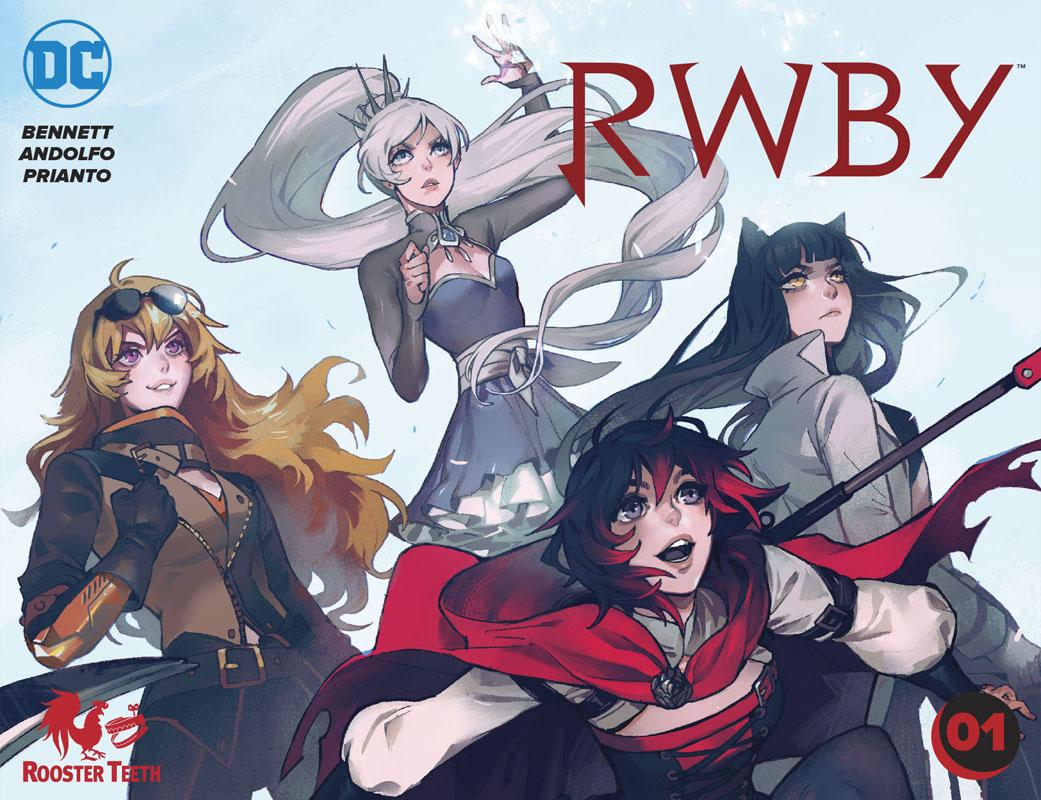 RWBY #1-5 (2019)